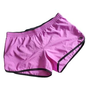 The North Face Purple Running Shorts